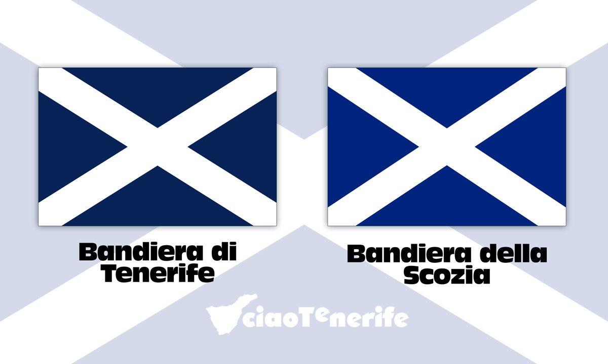 Tenerife E Scozia Una Bandiera In Comune