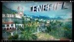 Un tracciato dell'isola in un videogioco